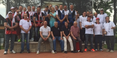 2a Squadra classificata regionale  presso Trap Concaverde 30-05-2015