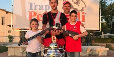 Doppietta Spettacolare dei ragazzi del settore Giovanile al 4' Trofeo Trap Pezzaioli