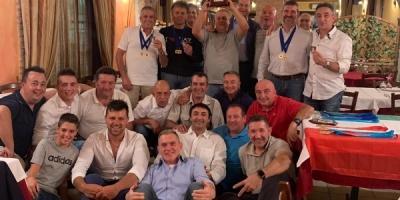 La Trap Pezzaioli festeggia il titoli freschi freschi di società e la Coppa Campioni di Fossa Universale!!!!
