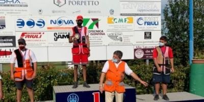 Tanfoglio Francesco Il portacolori della Trap Pezzaioli Vince il secondo Gran premio Fitav del settore giovanile a Porpetto. Congratulazioni infinite!!