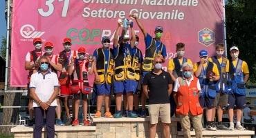 Trap Pezzaioli D'argento al 31° Criterium del settore giovanile