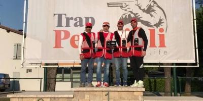 Trofeo Pavonella vinto da Fusti Cristian portacolori della Trap Pezzaioli